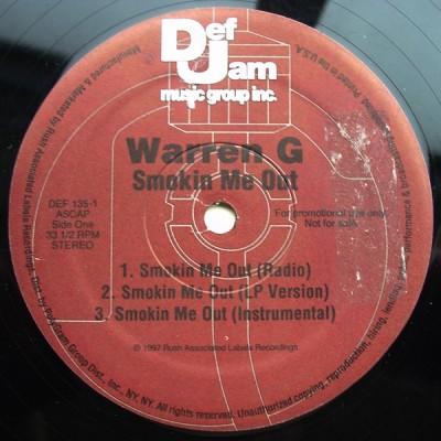 Warren G - Smokin Me Out