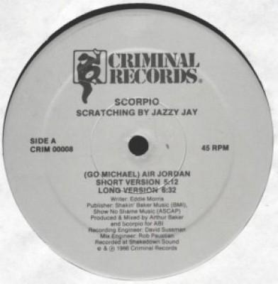 Scorpio - (Go  Michael) Air Jordan