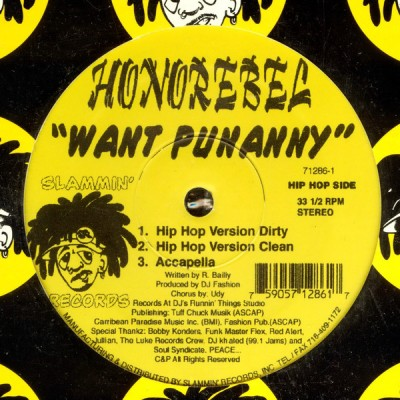 HonoRebel - Want Punanny