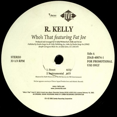R. Kelly - Who's That