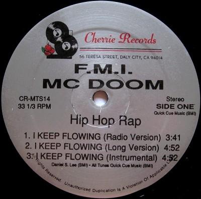 F.M.I. - I Keep Flowing / Listen
