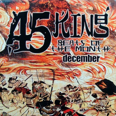The 45 King - Beats Of The Month December