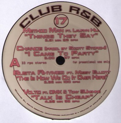 Various - Club R&B 17
