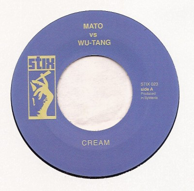 Mato Vs Wu-Tang / Mato Vs Naughty By Nature - Cream/ Clap Your Hands