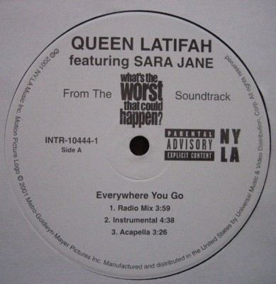 Queen Latifah - Everywhere You Go / **** What They Say