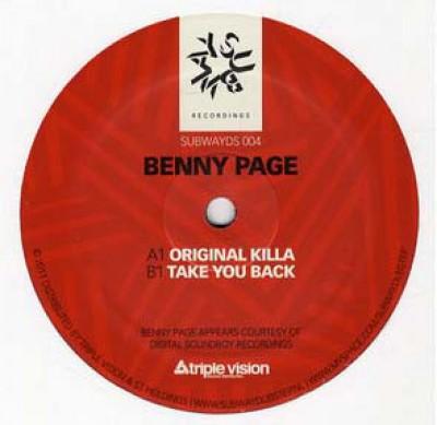 Benny Page - Original Killa