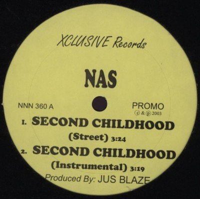 Nas / Novel - Second Childhood / Keep It Real