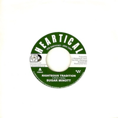 Sugar Minott / Basque Dub Foundation - Righteous Tradition / Ministerio Del Dub (Melodica Cut)