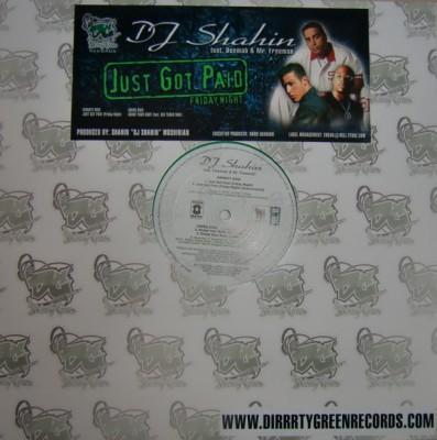 Shahin Moshirian feat. Deemah* & Mr. Freeman - Just Got Paid (Friday Night)