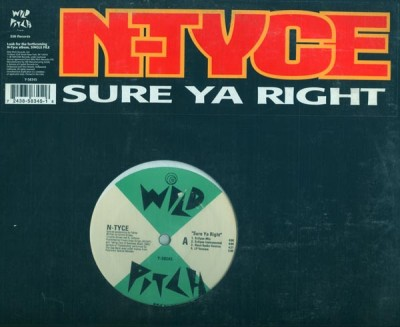 N-Tyce - Sure Ya Right