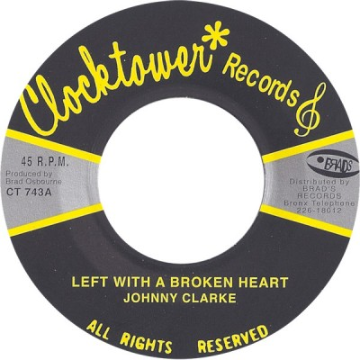 Johnny Clarke - Left With A Broken Heart