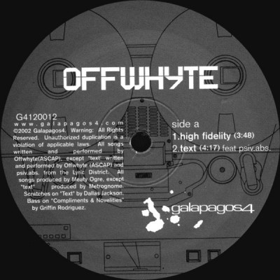 Offwhyte - High Fidelity