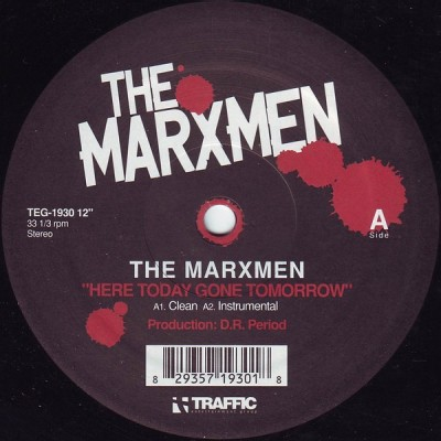 The Marxmen - Here Today Gone Tomorrow