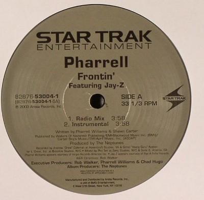 Pharrell Williams - Frontin'