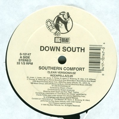 Down South - Southern Comfort