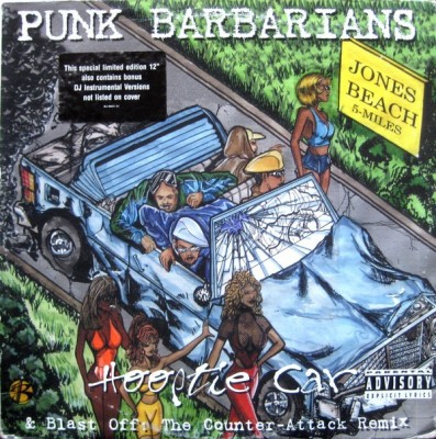 Punk Barbarians - Hooptie Car / Blast Off