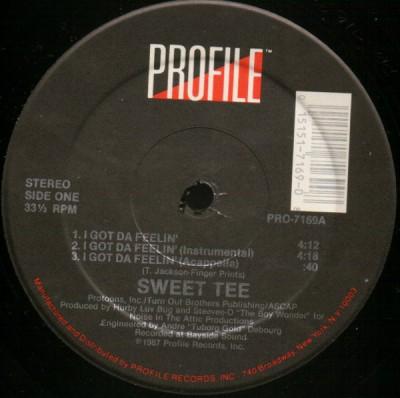 Sweet Tee - I Got Da Feelin' / It's Like That Y'all