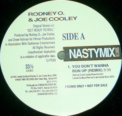 Rodney O & Joe Cooley - You Don't Wanna Run Up / Let's Do It Like This (Remixes)