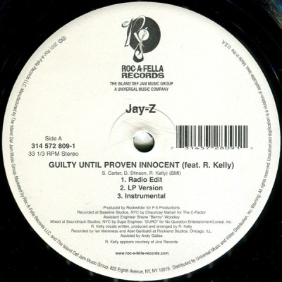 Jay-Z - Guilty Until Proven Innocent / 1-900-HUSTLER