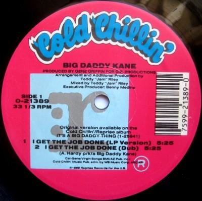 Big Daddy Kane - I Get The Job Done