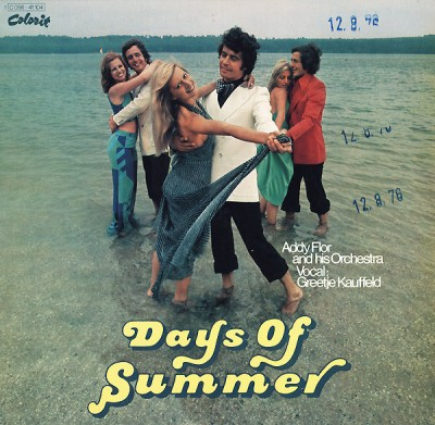 Orchester Addy Flor - Days Of Summer