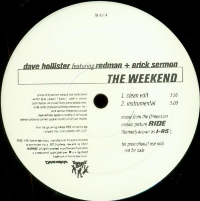 Dave Hollister - The Weekend