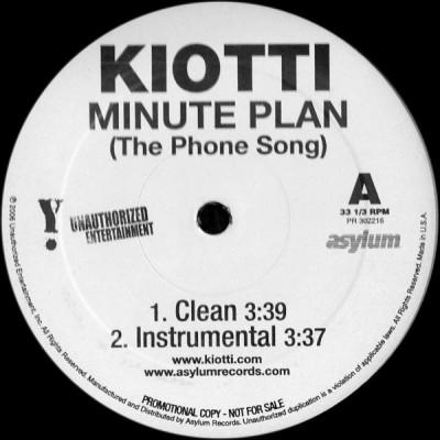 Kiotti - Minute Plan (The Phone Song)