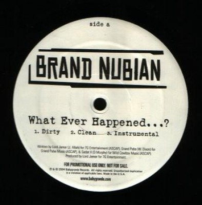 Brand Nubian - What Ever Happened...?