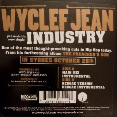 Wyclef Jean - Industry