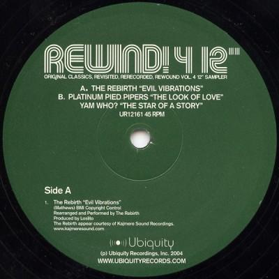 "Various - Rewind! 4 12"""