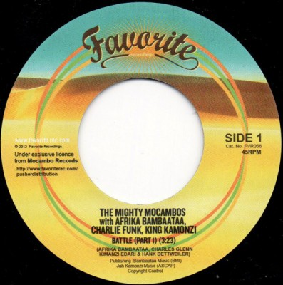 The Mighty Mocambos With Afrika Bambaataa, Charlie Funk, King Kamonzi - Battle