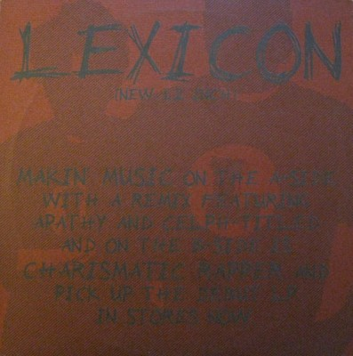 Lexicon - Makin' Music