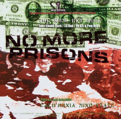 Various - No More Prisons (The Rich Get Rich / California Mindstate)