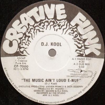 DJ Kool - The Music Ain't Loud E-Nuf
