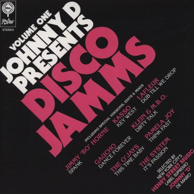 "Johnny ""D"" De Mairo - Disco Jamms (Volume One)"