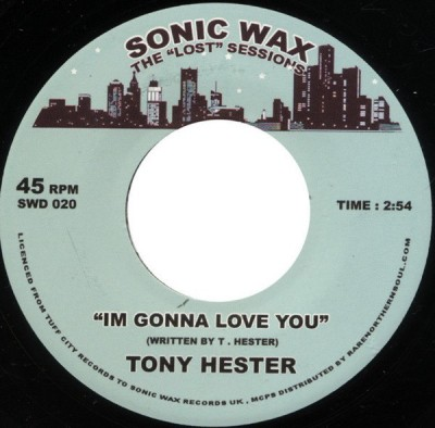 Tony Hester - I'm Gonna Love You