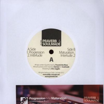 Praverb & Soulmade - Progression / Maturation