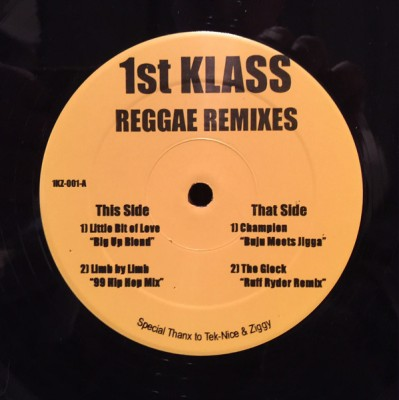 DJ First Class - Reggae Remixes