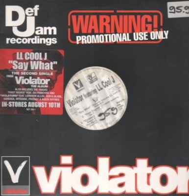 Violator - Say What / First Degree / Violators