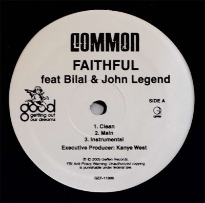 Common - Faithful