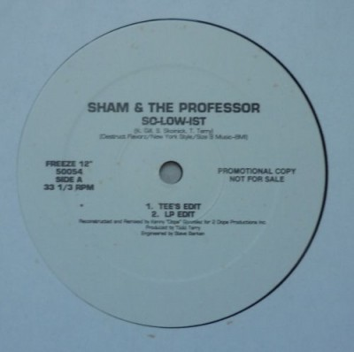 Sham & The Professor - So-Low-Ist