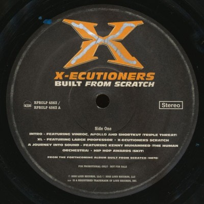 The X-Ecutioners - Built From Scratch