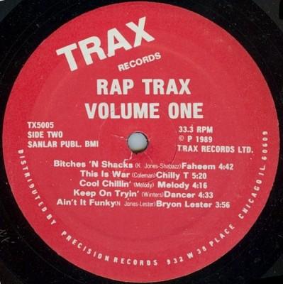Various - Rap Trax - Volume One