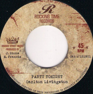 Carlton Livingston - Party Tonight