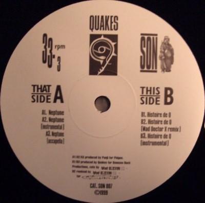 Quakes - Neptune / Histoire De Q