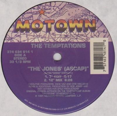 The Temptations - The Jones'