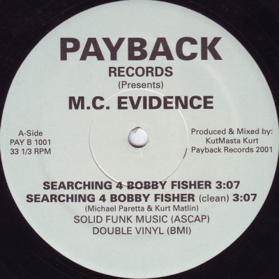 Evidence - Searching 4 Bobby Fisher