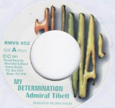 Admiral Tibet - My Determination