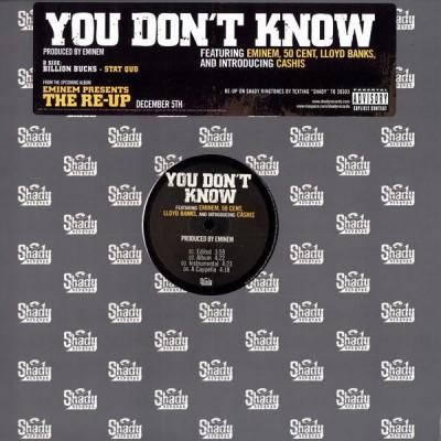 Eminem / Stat Quo - You Don't Know / Billion Bucks