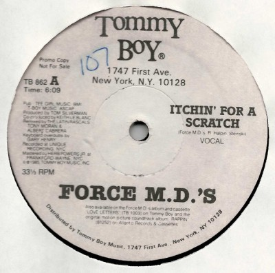 Force MD's - Itchin' For A Scratch